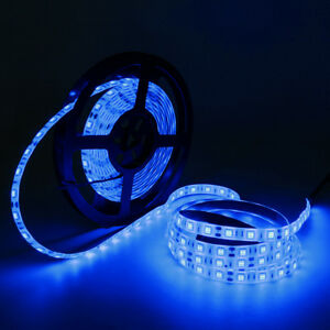 Blue 150/300/600Leds 3528/5050 SMD DIY Lighting Flexible LED Rope Strip Light