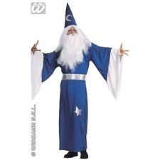 Medium adult Magician Costume-Wizard gandalf Taille 4648 Homme Merlin