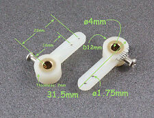 2pcs ø4xL22mm, Metal Core Single Steering Arm/Horn, RC Plane, US TH007-01101