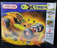 Erector Set Xtreme #5820 - 80 Piece - 2 Model Set Nib
