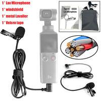 Für FIMI PALM Pocket Gimbal Kamera Type-C Plug Mikrofon Windshield HT-F01LM Neu
