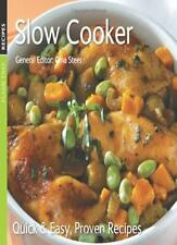 Slow Cooker: Quick & Easy, Proven Recipes,Gina Steer