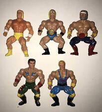 Rare Vintage Galaxy Warriors He-man MOTU remco wrestlers KO Sungold bootleg lot