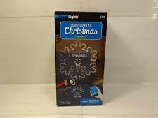 Gemmy Smartlights Countdown To Christmas Christmas Snowflake Projection ch250