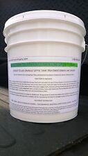 25 LBS SEPTIC TANK TREATMENT DRAIN CLEANER OPENER GRANULE PATRIOT CHEMICAL SALES