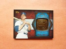 Mickey Mantle, 2012 Topps Update Award Winner Gold Ring, GAR-MM, NY Yankees