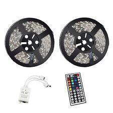 XTCLB 10m 60leds/m RGB 5050 SMD Waterproof 600 LED Lighting Rope Lights Strip...