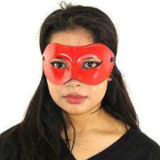 Unisex Roman Warrior Plain Masquerade Ball Prom Halloween Carnival Mask - Red