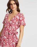 BNWT TIGERLILY LADIES CAMALI WRAP DRESS (ROSE) SIZE 6 RRP $179.99 LAST ONE