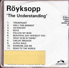 royksopp the understanding limited edition cd
