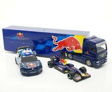 Majorette Red Bull Team VW Polo R WRC (1/57), F1 Racing no.1(1/64), Truck (1/87)