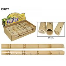 31cm Bamboo Flute in Natural Colour Great Kids Musical Toy Fun for The Family
