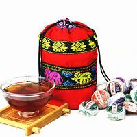 250g 8.8oz 50pcs Miscellaneous Mini Raw & Ripe Yunnan Puer Tuo Cha Pu-erh Tea