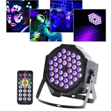 36w 36 LED UV Black Light Flat Par Can Stage Dmx512 Lamp DJ Bar Party Light
