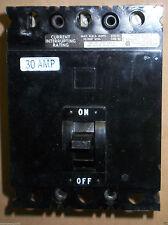 Square D Circuit Breaker 3 pole 30 amp FAL32030 FAL 32030 240v