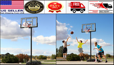"Portable Basketball Hoop 46"" Adjustable To 10 Feet Outdoor Sport Brand New"