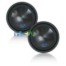 "(2) *NEW* ALPINE® SWS-12D4 12"" Type-S CAR SUBWOOFERS SUBS WOOFER SWS12-D4 *PAIR*"