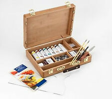 Winsor & Newton Artists Calidad Profesional Aceite color bambú Caja De Madera