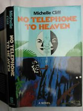 MICHELLE CLIFF.NO TELEPHONE TO HEAVEN.1ST/1 PRE PUBLICATION.HB DJ 1987,LETTER