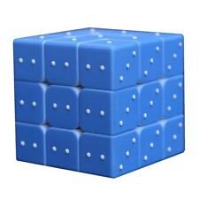 3x3 Speed Touch Cube Special for Blind Amblyopia 3D Relief Effect Twist Puzzles