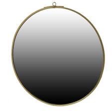 HomArt - Monroe Round Brass Mirror - Large