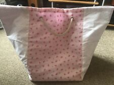 Childrens Cotton Fully Lined Storage Bag. Ditsy Floral From Next