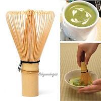 Japanese Ceremony Bamboo 64 Matcha Powder Soft Whisk Green Tea Chasen Brush Tool