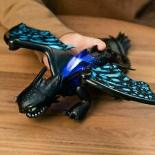 How to Train your Dragon Deluxe Toothless Figure with Lights and Sounds Toy Gift
