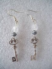 ORECCHINI PENDENTE CHARM CHIAVE KEY EARRINGS