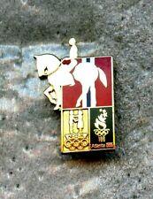 NOC Norway 1996 Atlanta Logo OLYMPIC Games Pin Enamel EQUESRTIAN