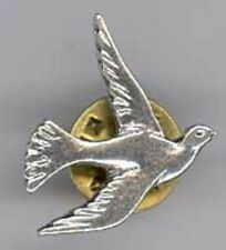 COLOMBE PIN'S METAL ARGENTE
