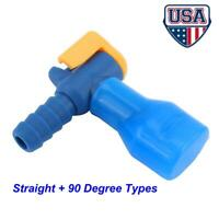 Sports Water Bladder Bag Hydration Pack 90°Silicone Nozzle Bite Valve