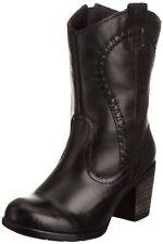 Women's 100% Leather Cuban Heel Shoes