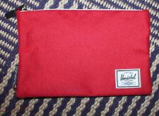 Herschel for Virgin Atlantic Red Zip Pouch Wash Bag - No Contents but Unused