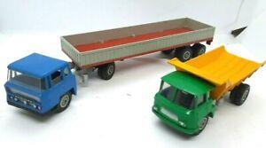 """SOLIDO """"Démontable"""" Lot de 2 camions : WILLEME et BERNARD"""