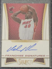 Autograph Miami Heat NBA Basketball Trading Cards