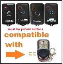 Boss Guardian Steelline 2211l Garage Door Remote Bht4/bol4/bol6/brd1 Replacement