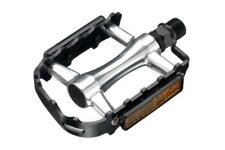 Black Union Slimline Alloy Commuter ATB MTB Bike Pedals 9/16 TOECLIP COMPATABLE