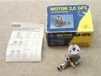 Modela GFS Junior 2  Vintage RC Engine Made in Czech Republic Nice But