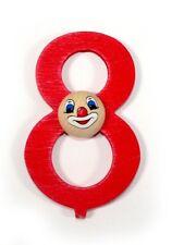 """chiffre d'anniversaire """" 8 """" 70 x 40 20 neuf en bois lettres Nombre"""