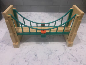 COLLAPSING SODOR SUSPENSION BRIDGE Thomas Wooden Railway