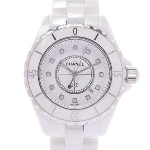 """CHANEL J12 1.3 """"12P diamond H1628 watch 800000092304000"""