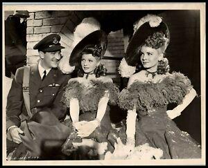 Rita Hayworth + Janet Blair in Tonight and Every Night 1945 PORTRAIT PHOTO 466