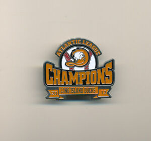 2012 Long Island Ducks Atlantic League Champs Minor League Baseball Pin