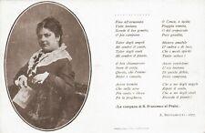 C1625) BONACCI BRUNAMONTI MARIA ALINDA DA PERUGIA, POETESSA.
