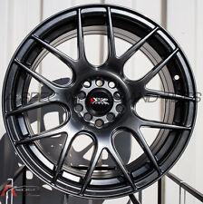 18X7.5 XXR 530 Wheels 5X100/114.3 +38 Chromium Black Fits Veloster Mazda Speed 3