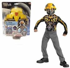 TRANSFORMERS BUMBLEBEE CHILDRENS FANCY DRESS COSTUME MASK JUMPSUIT OUTFIT TOY4=6