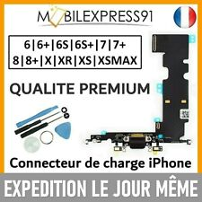 NAPPE CONNECTEUR DE CHARGE DOCK + ANTENNE MICRO IPHONE 6|6S|7|8|PLUS|X|XR|XSMAX