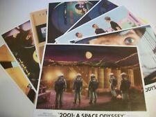 2001 A Space Odyssey   lobby card set 1972