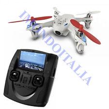 Rc Quadricottero - Drone 2.4 GHz Hubsan FPV X4 H107d con Telecamera in diretta